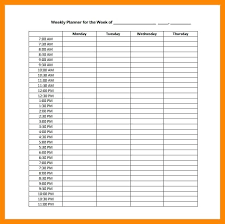 printable hourly planner template daily hourly planner template unique ideas on schedule