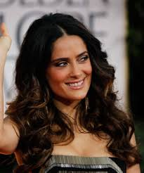 long curly hair style for lawyer salma hayek s curly hair inspiration naturallycurly com
