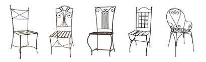 chaises en fer forgé chaise fer forge pas cher vente en ligne chaise haute fer forge