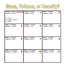 worksheet on density free worksheets library download and print