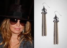 fergie earrings style fergies jet setting layers