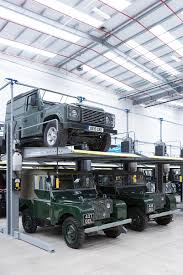 land rover classic jaguar land rover classic works opens amazing restoration facility