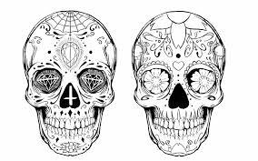 sugar skull design by alxpalm on deviantart