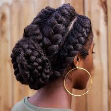 african fish style bolla hairstyle with braids 31 goddess braids hairstyles for black women stayglam