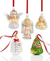 christmas decorations clearance sale and clearance christmas decorations macys inge glas ornaments