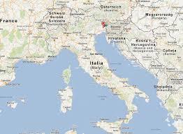 udine italy map udine map