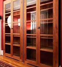 Cherry Wood Bookcase With Doors Bookcase Cherry Wood Bookcases Glass Doors Cherry Bookcase Glass