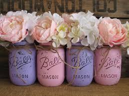 Ball Jar Centerpieces by Best 25 Purple Mason Jars Ideas On Pinterest Painting Mason