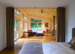 modern cabin modern bedroom burlington by joan heaton