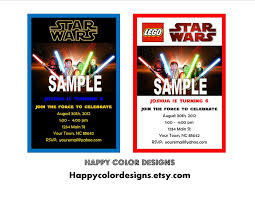 lego star wars birthday invitations template best template