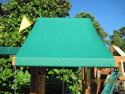 custom vinyl tarps u0026 canopies swing set paradise