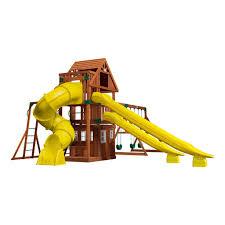 traverse wooden swing set playsets backyard discovery