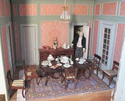 Dollhouse Dining Room Furniture Dining Room New Dollhouse Dining Room Furniture Wonderful