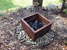 Rustic Firepit Menards Rustic Pit