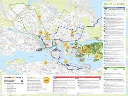 One World Route Map by Stockholm Hop On Hop Off Bus Tour 24 Hours Tour Stockholm