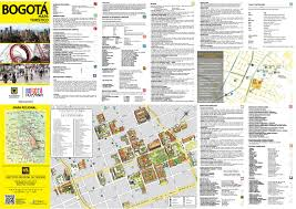Columbia South America Map by Large Detailed Tourist Map Of Historical Part Of Bogota City In