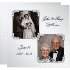 60th wedding anniversary invitations 60th wedding anniversary invitations announcements zazzle