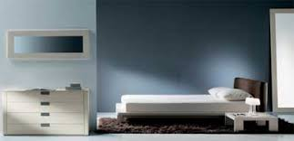 Contemporary Blue Bedroom - blue and white color scheme examples photos bathroom bedroom