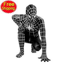 Spider Woman Halloween Costumes Black Spiderman Costume Halloween Costumes Men Spandex