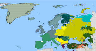 Indo European Language Map by Linguistic Map Thread Page 8 Alternate History Discussion