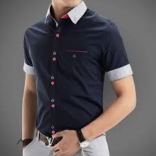 aliexpress com buy 2015 new brand mens dress shirts short sleeve