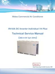 mi dea vrf manual air conditioning power inverter
