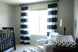 Navy And White Striped Curtains Wide Striped Curtains Ipbworks