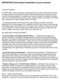 collection of solutions example of community manager cover letter
