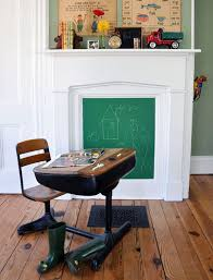 How To Decorate A Non Working Fireplace How To Decorate The Inside Of A Fireplace Tidbits U0026twine