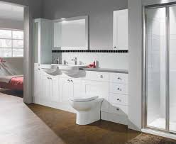 neighborhood bathroom stunning white wall cabinet with wood floors