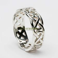 celtic knot ring celtic rings sterling silver celtic knot ring wide band