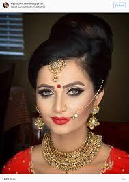 eyebrow threadling by preet indian bridal makeup artist