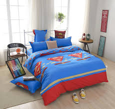 Notre Dame Bedding Sets Superman Superhero Kids Bedding Set Queen 4pcs Sale
