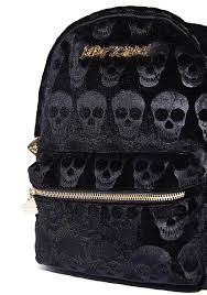 betsey johnson skull backpack dolls kill