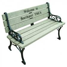 Commemorative Benches Engraved Memorial Benches Personalized Park Benches For Sale