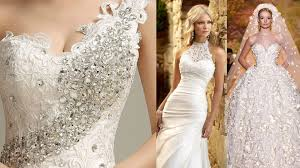 the most beautiful wedding dresses in the world youtube