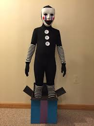 Marionette Halloween Costume Ideas 10 Fnaf Costume Ideas Foxy Costume Freddy