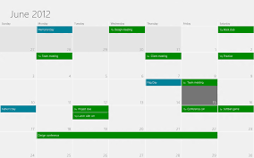 windows 8 home design app windows 8 home design app view of june 2012 holidays and appointments shown on a