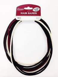 elastic hair bands tangle free hair bands thin elastic hair band 8 pieces 3371