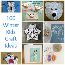 december kids crafts art craft ideas