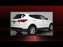 Saddle Interior 2014 Hyundai Santa Fe Sport 2 0l Turbo W Saddle Interior Youtube