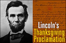 abraham lincoln thanksgiving quotes thanksgiving blessings