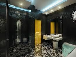 Black And Yellow Bathroom Luxury Apartment In Yellow And Black U2013 Fresh Design Pedia