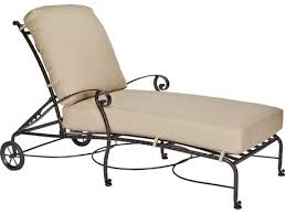 Wrought Iron Chaise Lounge Ow Lee San Cristobal Collection