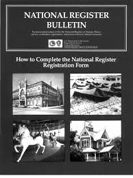 national register bulletin 16a how to complete the nr form