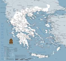 Where Is India On The Map by Map Of Ancient Greece