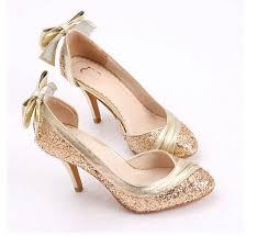 wedding shoes glitter gold glitter wedding shoes wedding shoes wedding ideas and
