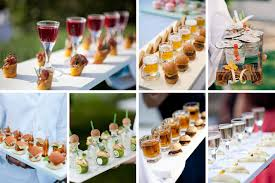 cocktails and canapes 2015 event catering trends