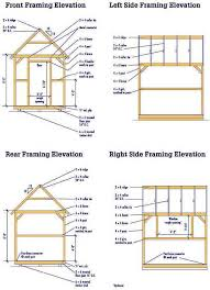 Plans To Build A Wooden Shed by 8 10 Wood Shed Plans U2013 Complete Blueprints For Making A Shed
