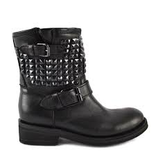 buckle biker boots buy trap biker boots from ash footwear in black leather online today